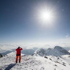 Ausblick vom Weissfluhgipfel (2.844m) - ©Skiinfo