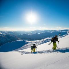 Myrkdalen hat über 1 Meter Neuschnee abbekommen - ©Myrkdalen lanserer vinterfestival førstkommende helg