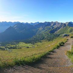 Wandertipp der Woche: Walser Omgang - Erkenne Deine Grenzen  - ©Kleinwalsertal Tourismus eGen