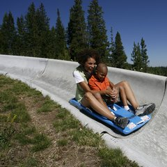 Winter Park CO alpine slide