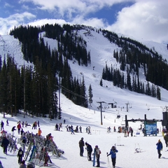 Arapahoe Basin base area 2