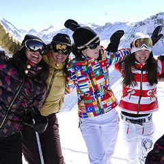 Le ski se conjugue aussi au féminin... - ©P. Lebeau