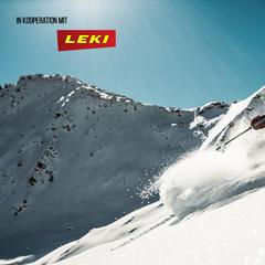 Freeriden mit LEKI-Stöcken - ©LEKI