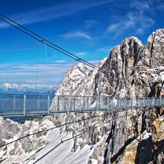 Fascinující vyhlídkové plošiny v Alpách - ©Schladming-Dachstein
