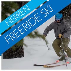 Herren Freeride Ski Test 2017/2018 - ©Skiinfo / OnTheSnow / Realskiers.com