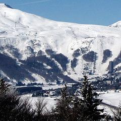 Point neige dans le Massif Central (10/01/2013)