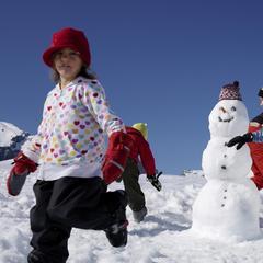 Sneeuwpret in Laax - ©Weisse Arena Gruppe, Laax