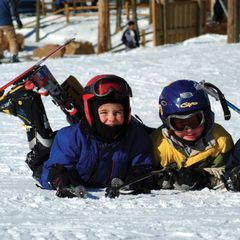 Family fun on the ski slopes of Wisconsin
