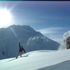 Sedrun SUI skier