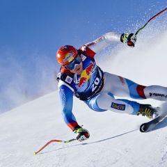 Didier Cuche in Aktion - ©Rolex/Kurt Arrigo