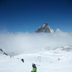Skifahren in Zermatt - ©Patrick Thorne