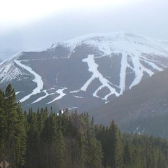 Nakiska's ski slopes, Alberta
