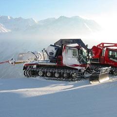 Schneeraupen in Sölden - ©Lew Setä