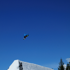 Mt Hood Ski Bowl jumper