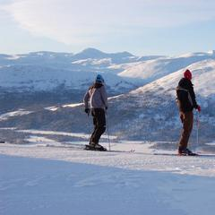 Bjorli NOR skiers