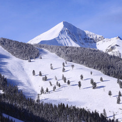 Flat Iron, Andesite and Lone Peak make up Big Sky Resort—