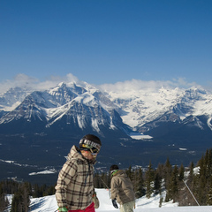 Early Season Skiing at Lake Louise Ski Area