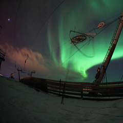 The northern lights in Sunny - ©Level 1