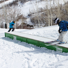 Learning to slide boxes in the park at Park City Mountain Resort - ©Park City Mountain Resort