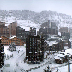 Chutes de neige du 27 octobre 2012 - Avoriaz