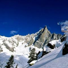 Top snowboarding resort: Chamonix