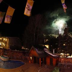 Fireworks over Aspen Mountain - ©Sky Hotel