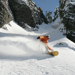 A powder day at Mission Ridge. Photo courtesy of Mission Ridge.