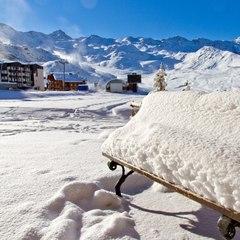 La neige est déjà au rendez-vous à Val Thorens en ce début novembre - ©Val Thorens