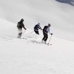 Avec ses atouts naturels, la Haute Maurienne Vanoise a toujours séduit les aficionados de sensations fortes - ©Didier Givois