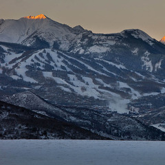 Snowmass looks good following Winter Storm Brutus. - ©Jeremy Swanson