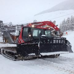 La neige est tombée sur les pistes du Val d'Allos - ©Office de Tourisme du Val d'Allos