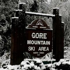 Gore Mountain sign