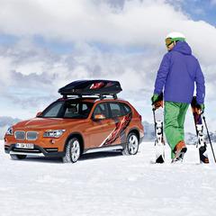 Eine Fahrt im BMW X1 kann man gewinnen - ©BMW