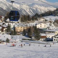 St Anton village AUT