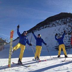 Parsenn ski area in Davos-Klosters Nov. 25