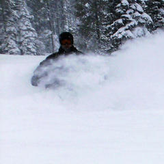 Tamarack Resort on a powder day. Photo by Brent/Flickr.