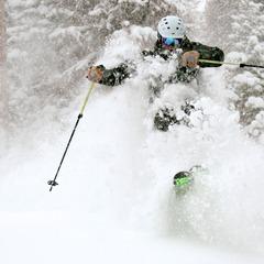 Wolf Creek was DEEP on Dec. 15, 2012. Just ask Eric Rasmussen.
