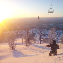 Rauland Skisenter 19.12.2012