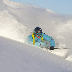 Powder in Hemsedal, Norway. Dec. 20, 2012
