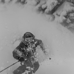 It was deep at Vail this week