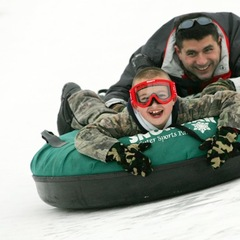 Tubing at Ski Snowstar.