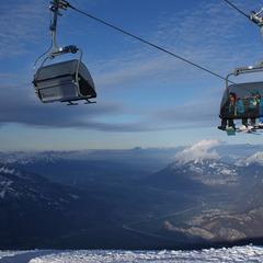 Skifahren in Pizol