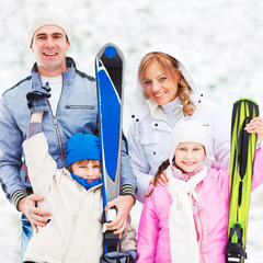Canada Olympic Park has family-friendly skiing. Photo courtesy of Winsport Canada.