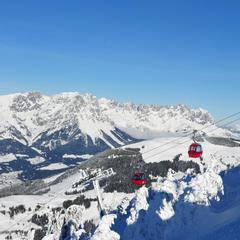 perfect ski day at Wilder Kaiser