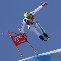 Dominik Paris - der Sieger der Hahnenkammabfahrt 2013 - ©Agence Zoom