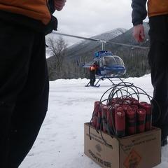 Steve Ruskay with explosives at the ready - ©Steve Ruskay