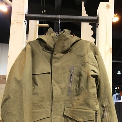 The Mountain 65 jacket from Orage has a 20K/20K waterproof rating, and is a burly, durable, everyday ski jacket that is also stylish enough to be worn around town.