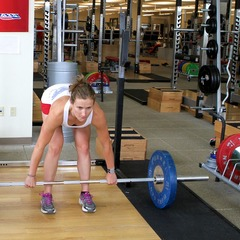 Romanian Deadlift with Heather McPhie.