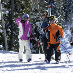 Steamboat skiing kids