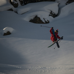 Rory Bushfield was a bright spot for Team Americas at the Swatch Skiers Cup. - ©D.Carlier/swatchskierscup.com